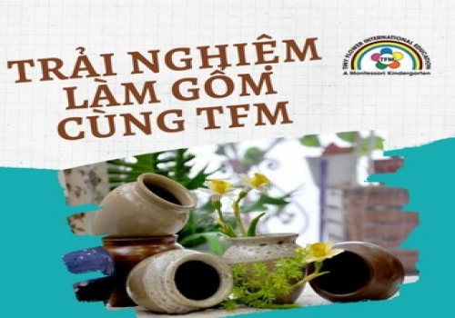 Discovery traditional pottery village activity gives children interesting experiences, promotes the children's creativity and perseverance.