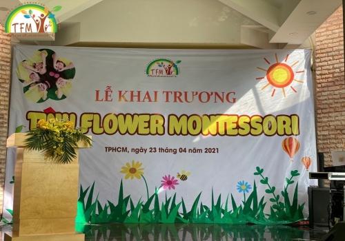 Ngày 23/04/2021, Tiny Flower Montessori chi nhánh Phước Kiển thuộc hệ thống Tiny Flower Montessori đã diễn ra buổi Lễ khai trương tại địa chỉ 69C, Lê Văn Lương, Phước Kiển, Nhà Bè (Khu dân cư Thái Sơn).