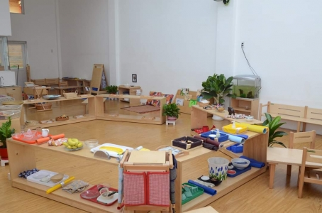 The Enrollment Of Montessori 0-3 Year-Old Assistant Course For The First Time In Ho Chi Minh City