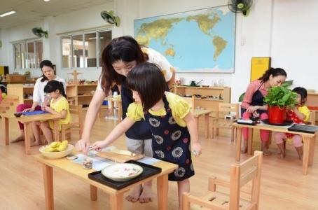 Trường TFM đón đoàn thực tập khóa đào tạo giáo viên Montessori Casa 3-6 đầu tiên tại Việt Nam