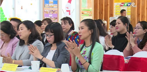 News from HTV & VTV about the Montessori seminar