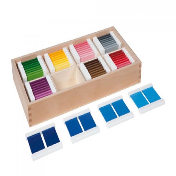 Hộp thẻ màu với 32 cặp màu