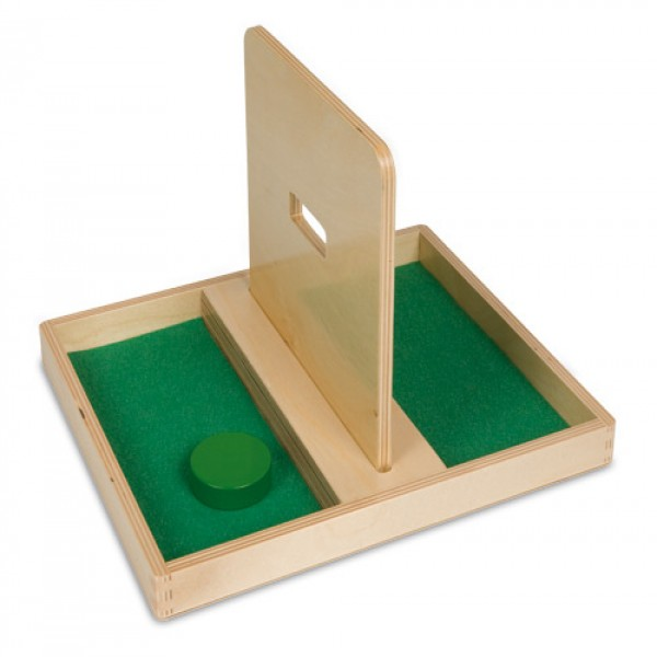 Khay  gỗ có vách ngăn giữa, lỗ hẹp