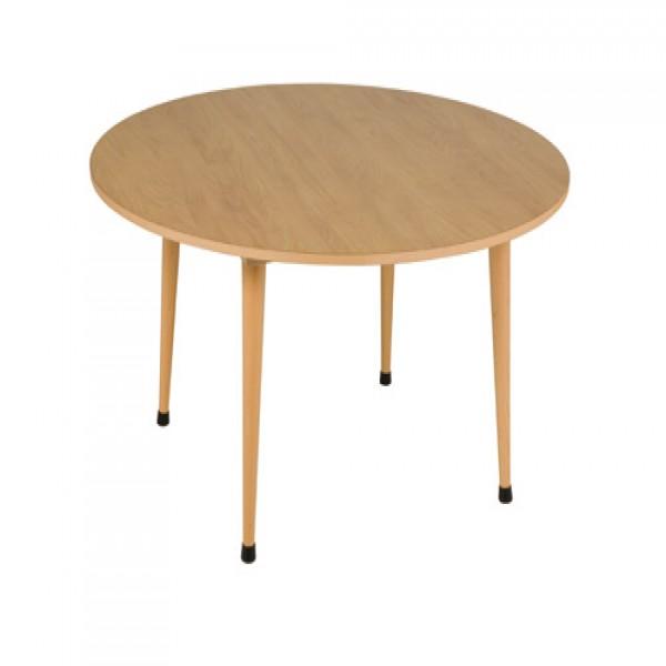 Bàn ngồi nhóm B2: Màu tím- tròn (115 x 53 cm)