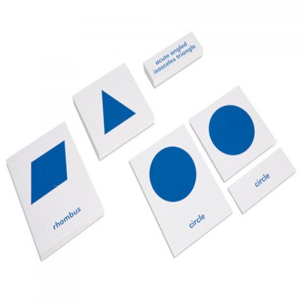 Bộ thẻ danh mục tên hỗ trợ kệ hình học