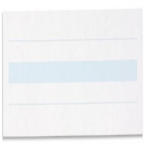 Giấy viết: Dòng kẻ màu xanh dương - 2 x 8,5 - (500)